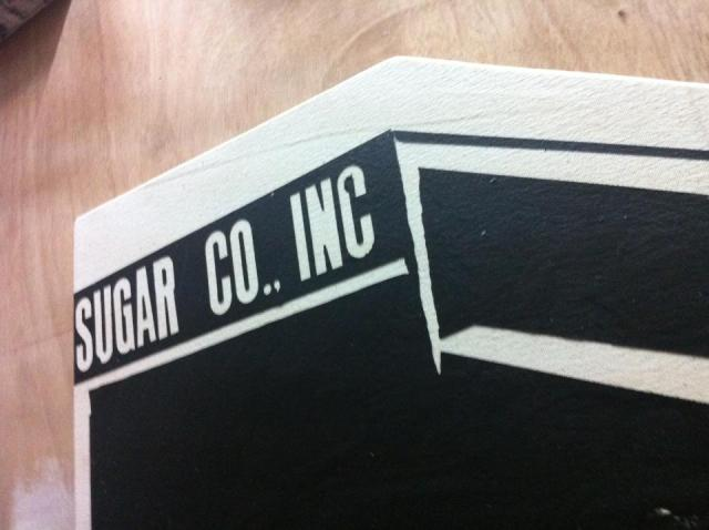 Sugar Co. Inc., from the 1898 series, 2013, acrylic on canvas