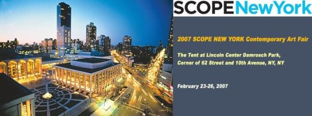 Scope NY 2007 invitation