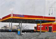 """Caribe de la serie Fragmentos de Isla, 2009, acrílico, esmalte, grafito y pintura industrial sobre canvas, 63 ¾"""" x 98"""", colección Margarita Vicentí."""
