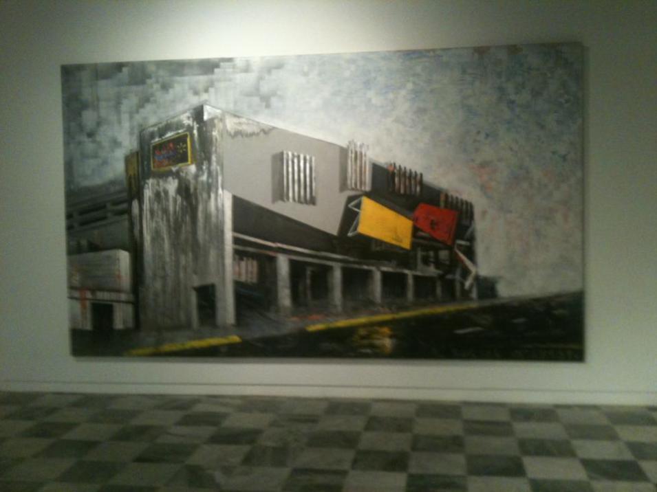 Installation view at Muestra Nacional de Arte 2013