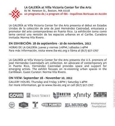 Exhibition invitation