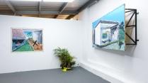 Installation view at Km0.2 exhibition space. Photos by Yiyo Tirado.